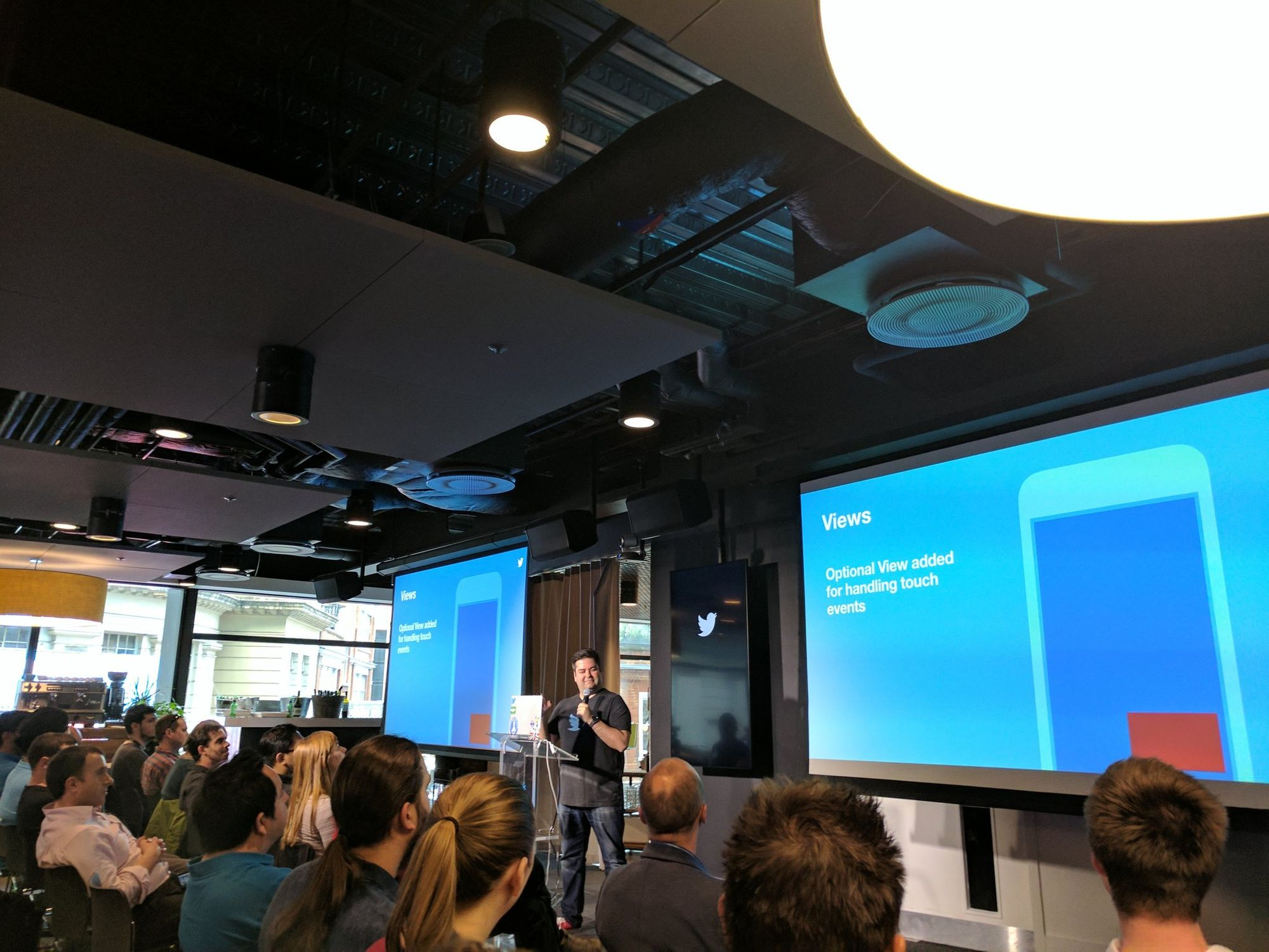 """Video Docking at Twitter"" talk at Londroid"